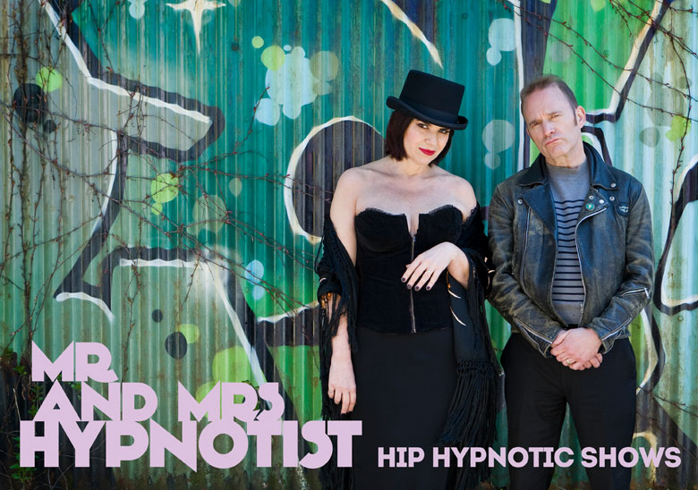Mr. & Mrs. Hypnotist - Our Show